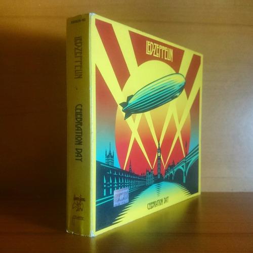 led zeppelin celebration day deluxe 2cd dvd original nuevo