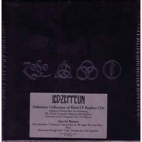 Led Zeppelin, Definitive Collection Of Mini-lp Replica Cds