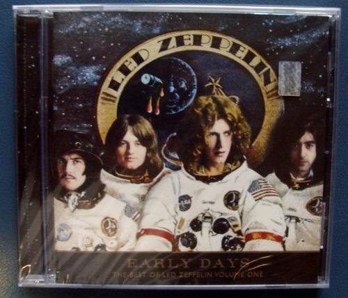 led zeppelin  - early days v1 cd cerrado