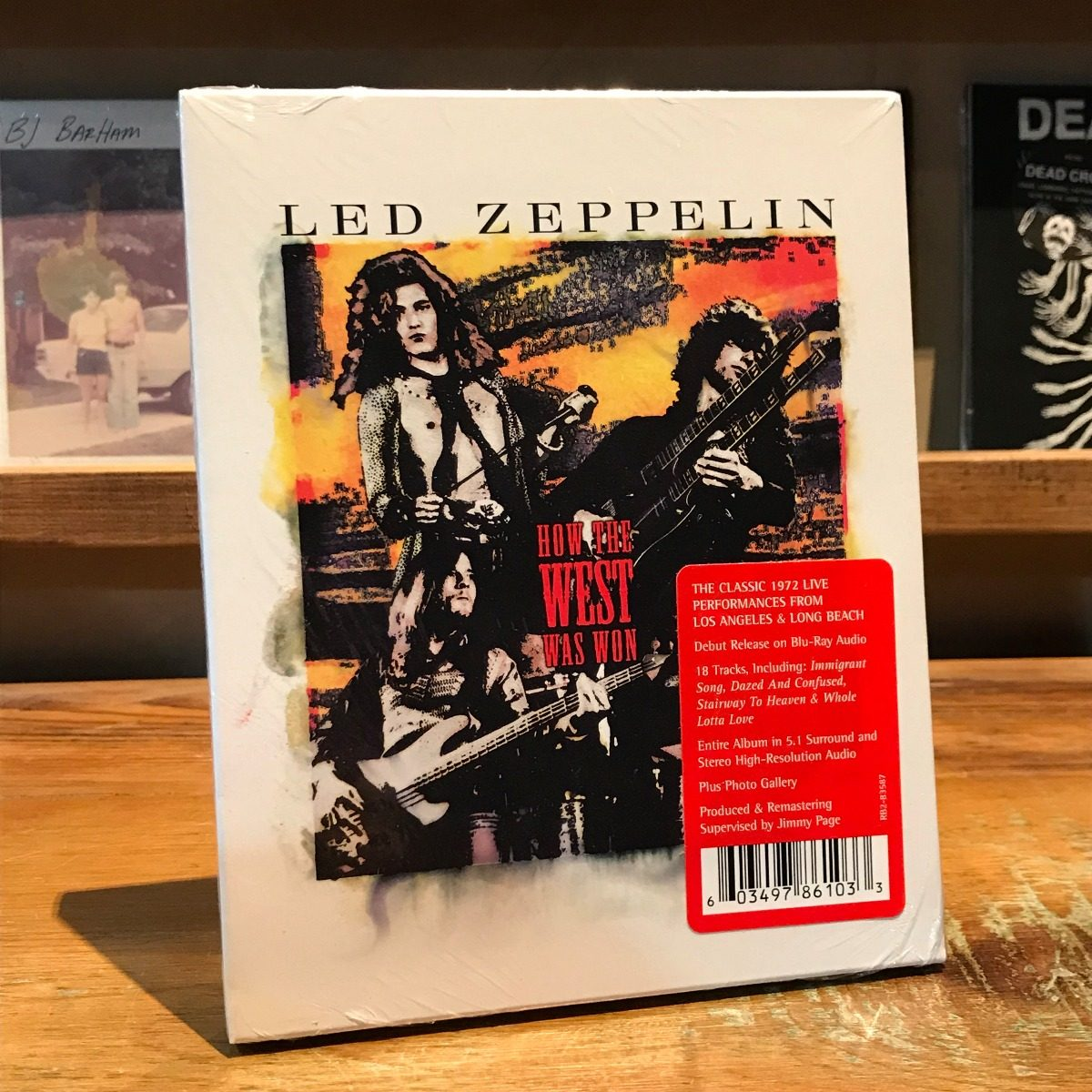 Led zeppelin immigrant song how the west was won