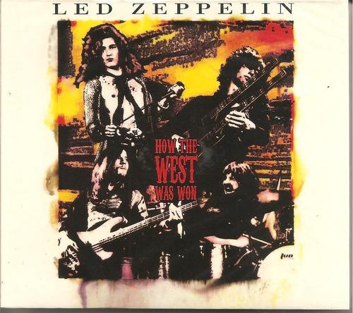 led zeppelin how the west was won - box triplo novo frete 12
