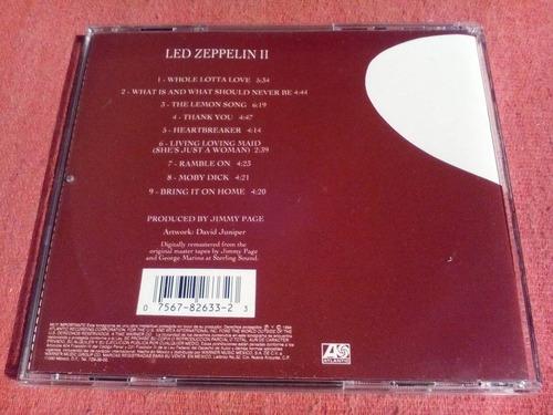 led zeppelin - ii 2 cd nac ed 1994 mdisk