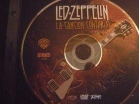 led zeppelin la cancion continúa (dvd).