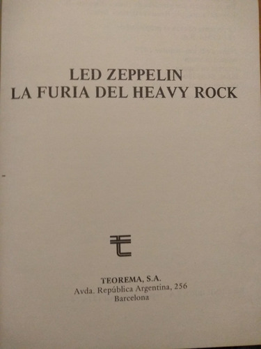led zeppelin - la furia del heavy rock -