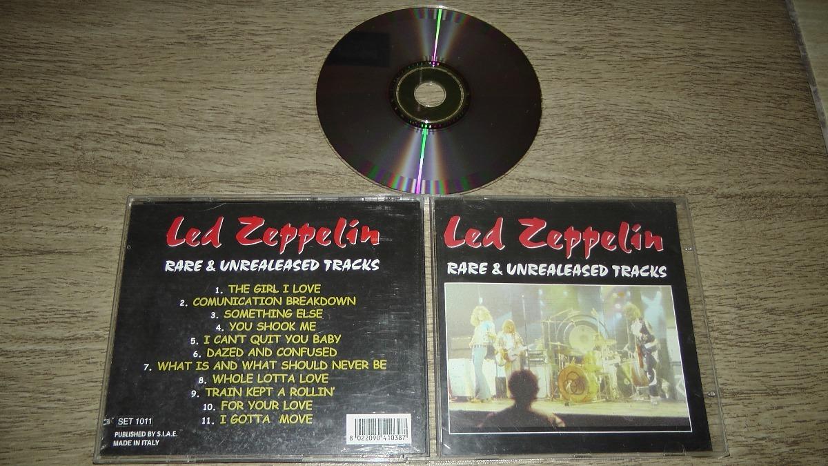 Led Zeppelin Live & Unreleased Tracks Raro Cd