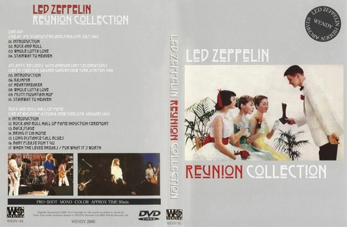 led zeppelin - reunion collection