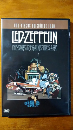 led zeppelin -songs remains the same dvd