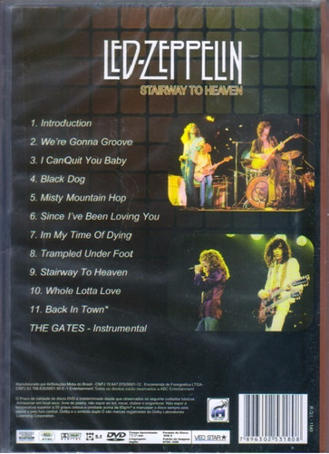 led zeppelin stairway to heaven 1974 dvd original novo lacre
