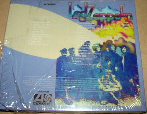 led zeppelin vol 2 deluxe edition cd doble sellado