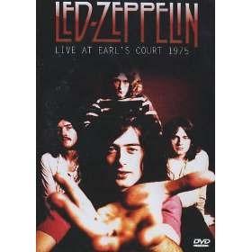 led-zeppellin live at earl's court 1975 dvd novo/lacrado