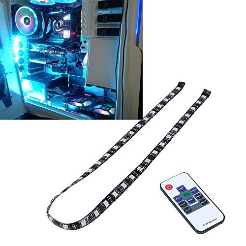 Leddess pc rgb led light strip with rf wireless remote contr caractersticas aloadofball Gallery
