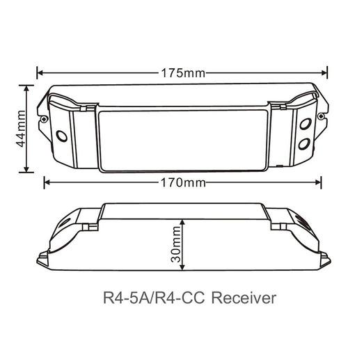 ledenet 2 4g controlador de recepción remota rf receptor ...