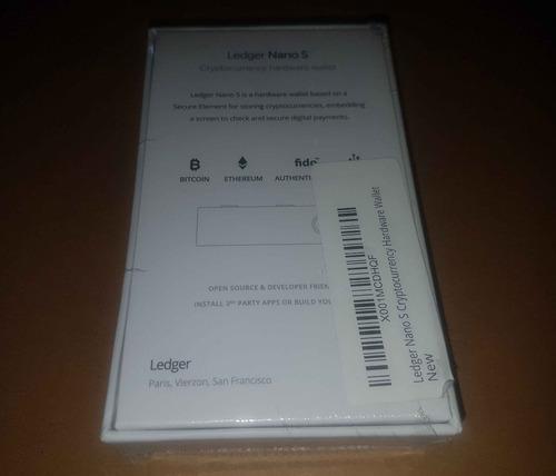 ledger nano s wallet hardware monedero bitcoin btc ether