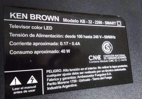 leds para ken brown modelo kb-32-2260 smart