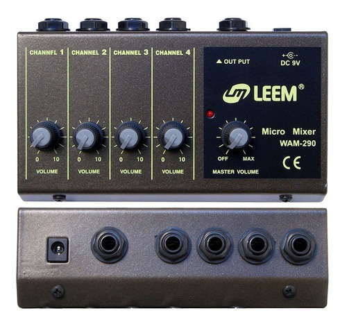 leem consola  micromixer 4 canales