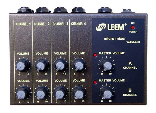 leem consola  micromixer 8 canales (cuotas)
