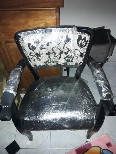 leer 6 sillas 2 sillones replica luis xv efect 19000