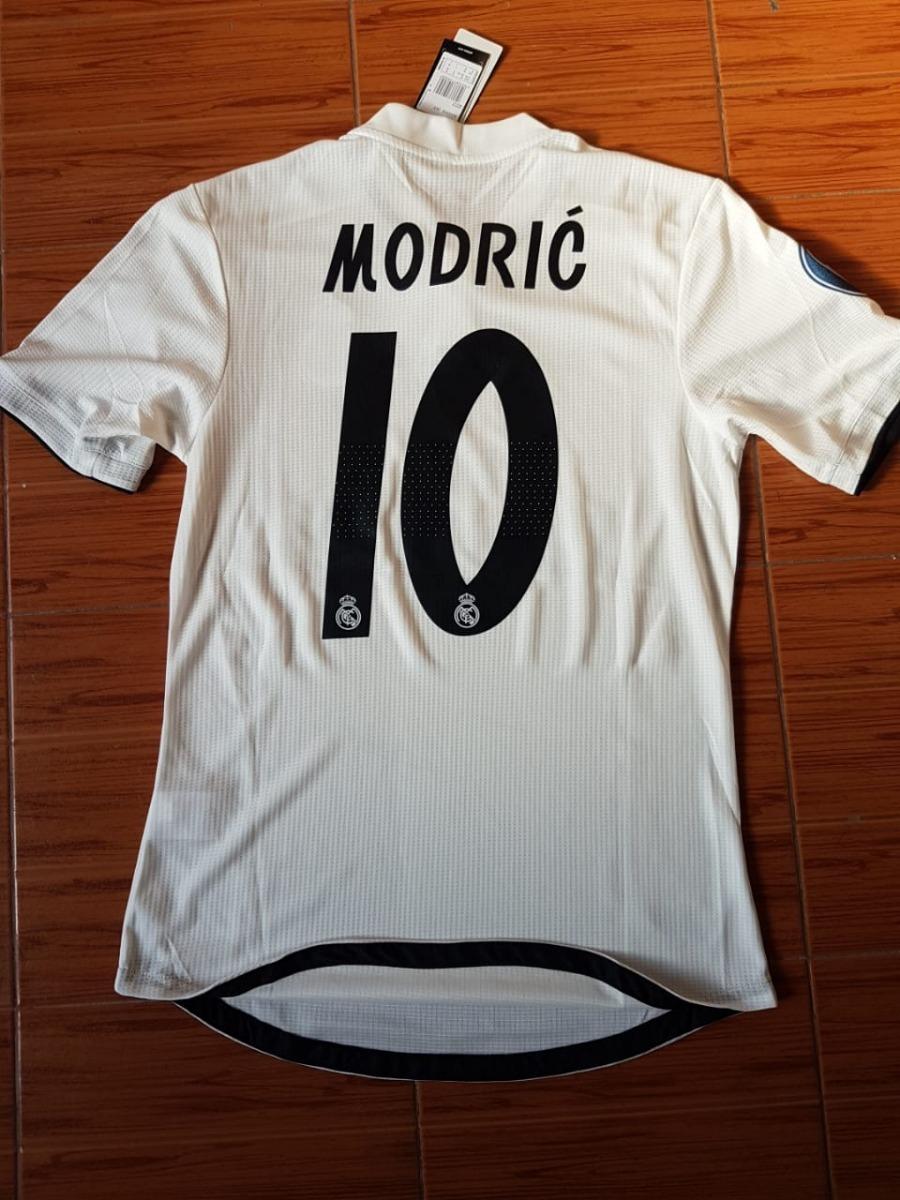 13e33a31c73 Leer! Camiseta Real Madrid Titular Match 10 Modric -   1.199
