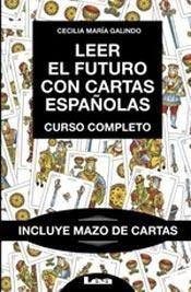 leer el futuro con cartas españolas - ceci galindo - ed. lea