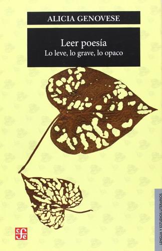 leer poesía - alicia genovese
