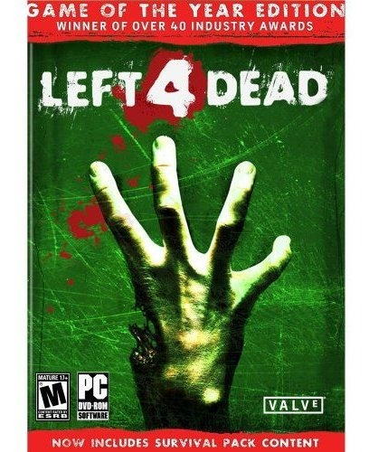 left 4 dead game of the year edition pc