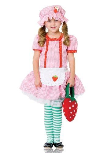 leg avenue disfraz fresa rosita fresita vestido niña