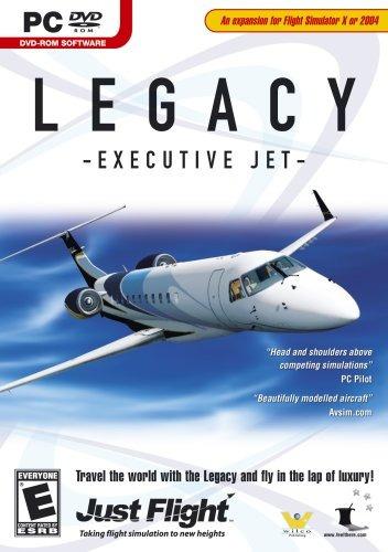 legacy - executive jet para flight simulator x - pc