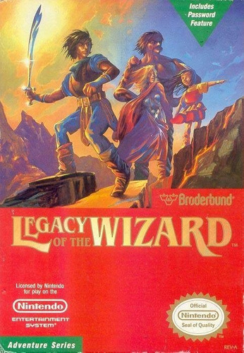 legacy of the wizard (completo) - nes