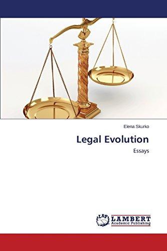 legal evolution; skurko elena