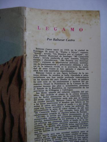 légamo / baltazar castro / editorial zig-zag / 1965