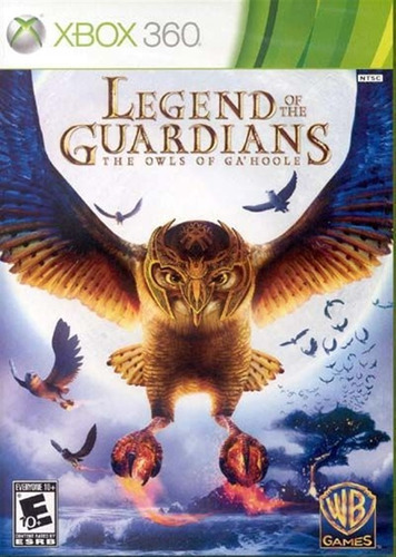 legend of guardians x360 war -jogo novo lacrado