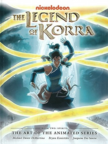 legend of korra: the art of the animated series vol 2 *sk