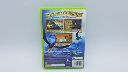 legend of the guardians the owls of ga'hoole - xbox 360