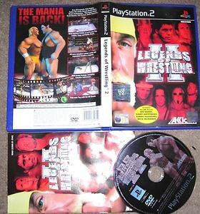 legend of wrestling 2 ps2