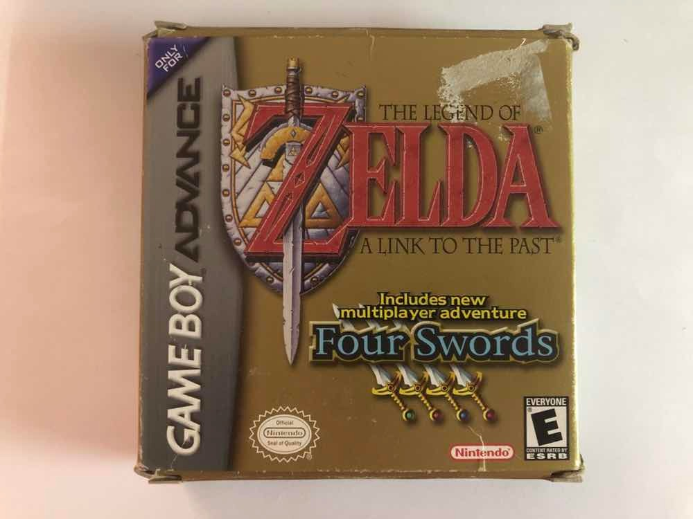Legend Of Zelda A Link To The Past Gameboy Advance Gba