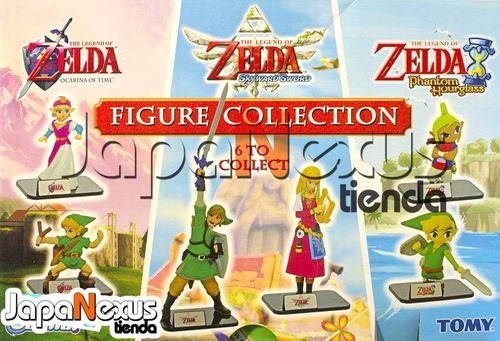 legend of zelda set de figuras tomy