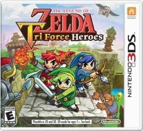 legend of zelda tri force heroes fisico sellado nintendo 3ds