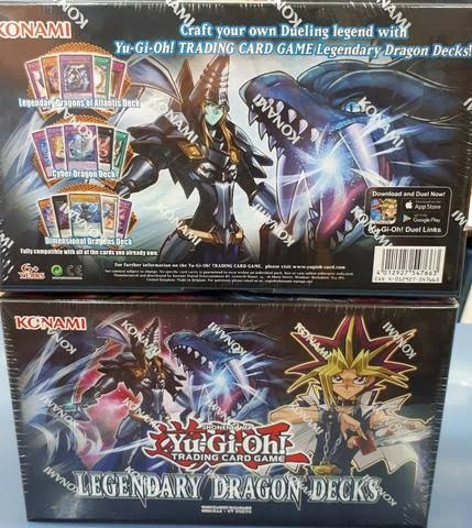 Legendary Dragons Deck En Ingles