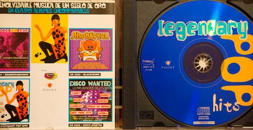legendary pop hits - cd compilado