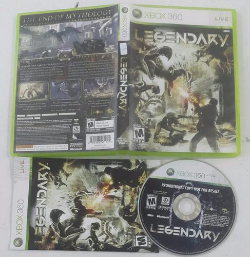 legendary - the end of mythology / xbox 360 live