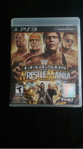 legends of wrestlemania video juegos ps3