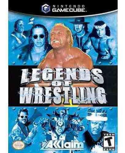 legends of wrestling / lucha libre / gamecube & wii