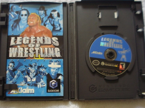 legends of wrestling nintendo gamecube y wii