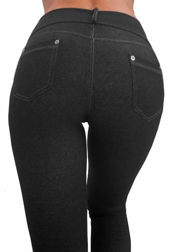 legging calza mujer jean