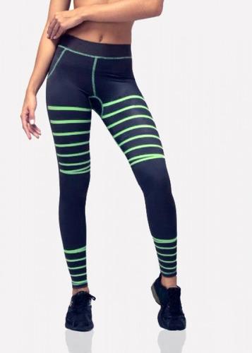 legging donna kuin green lines talla s