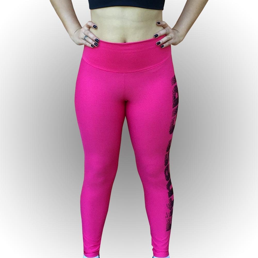 9be5ffa0d legging estampa perna pink fitness girl. Carregando zoom.