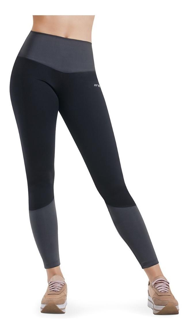chaussures de sport c839d 68d40 Legging Gris Con Negro Tela Suave Protección Uv Rio Sport