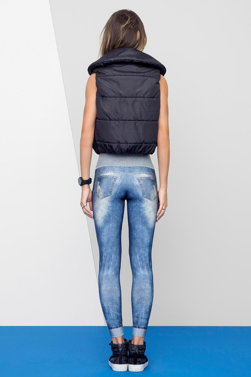 Carregando zoom... calça legging jeans live lançamento legging ... 25d13b34aefac