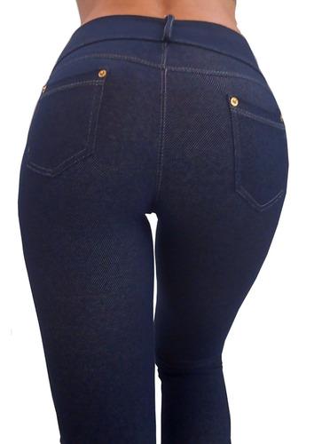 legging levanta cola calza tqc mujer simil jean