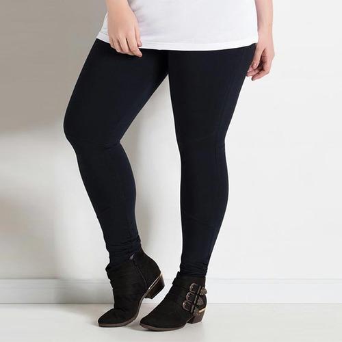 legging plus size suplex grossa cintura alta alta compressão